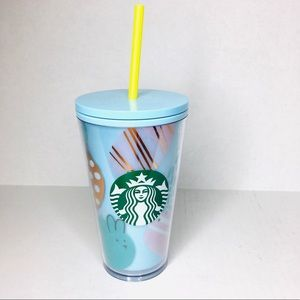NWT Starbucks Grande Holiday 2020 Easter Bunny cup